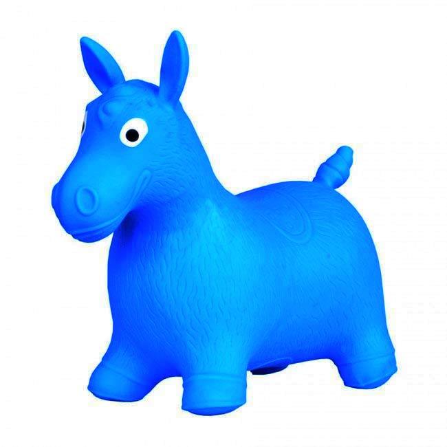 Hopsadlo koník Ben - farba modrá
