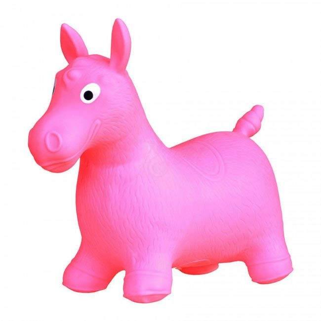 Hopsadlo koník Ben - farba ružová