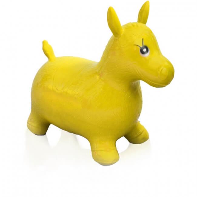 Hopsadlo koník Ben - farba žltá