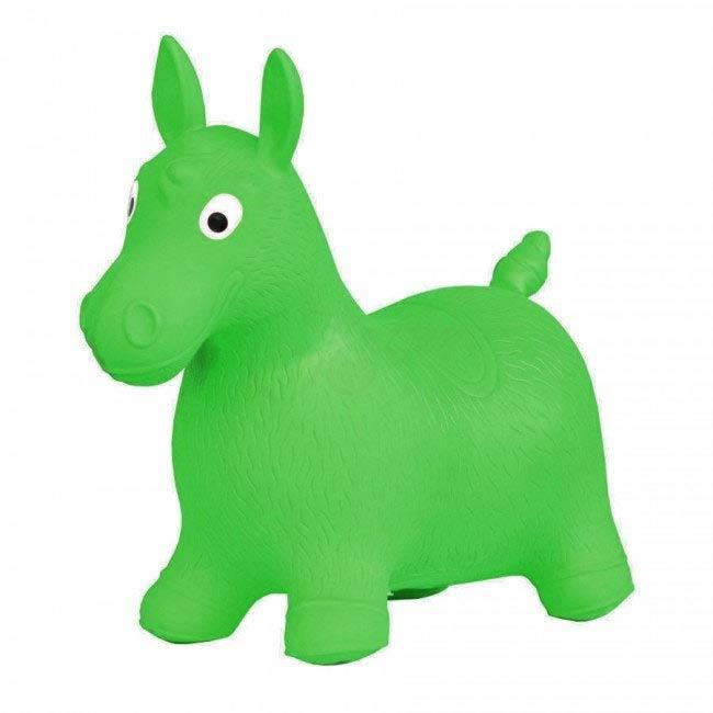 Hopsadlo koník Ben - farba zelená