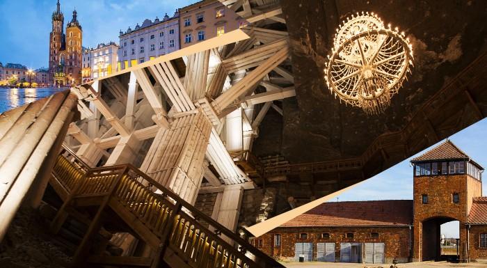 Fotka zľavy: Pripravte si jesenné poznávanie. Vyberte sa na zájazd do Krakowa s návštevou neslávne známeho Osvienčimu, soľnej bane Wieliczka a Wadowic.