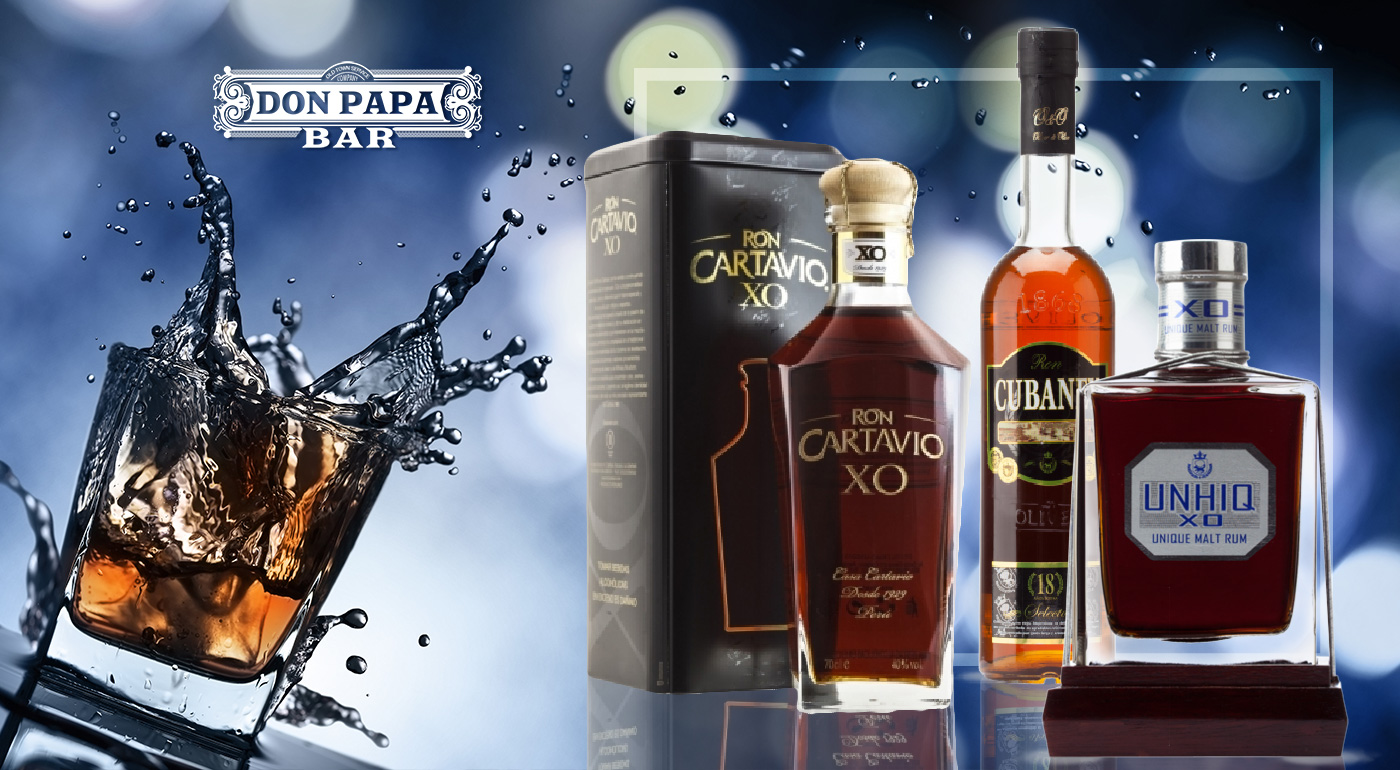 Terasová ochutnávka prémiových rumov v bare Don Papa  - objavte nové a nepoznané chute exotiky výberom 8 prémiových značiek