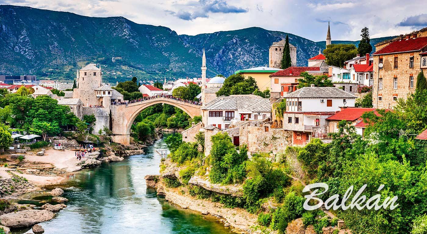 Spoznajte s nami čaro Balkánskeho polostrova na 7- dňovom poznávacom zájazde