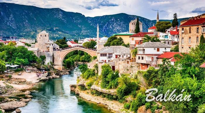 Fotka zľavy: Balkán: Prežite dobrodužstvo pri spoznávaní Balkánskeho polostrova. Počas 7-dňového zájazdu s CK Silverica vám odhalí tajomstvá Čierna Hora, Bosna a Hercegovina, Albánsko či Chorvátsko!
