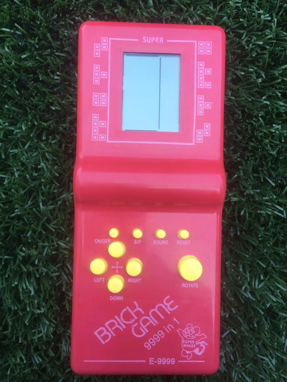 Hra Tetris - červená
