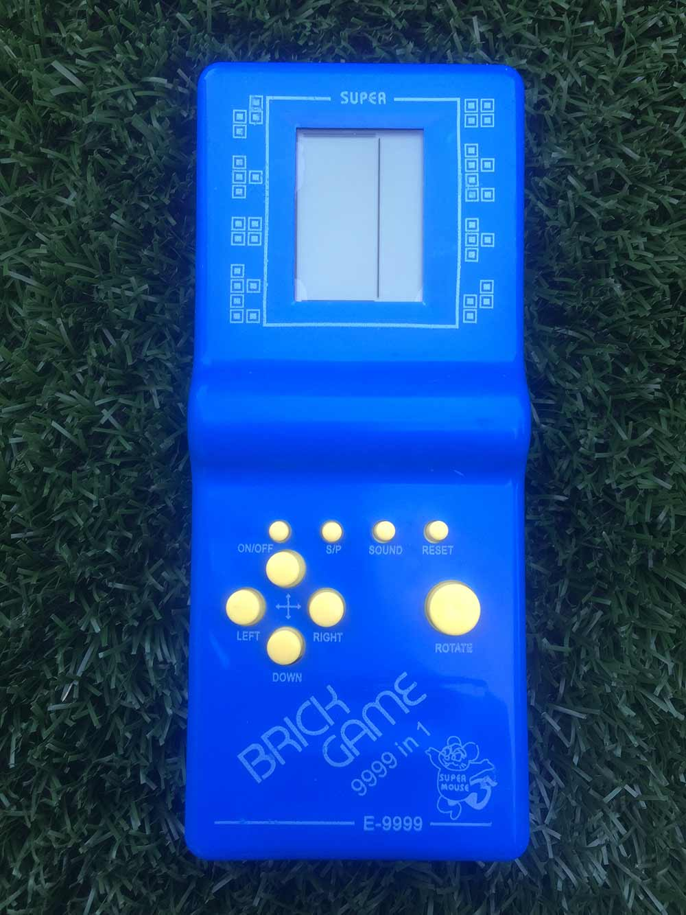 Hra Tetris - modrá