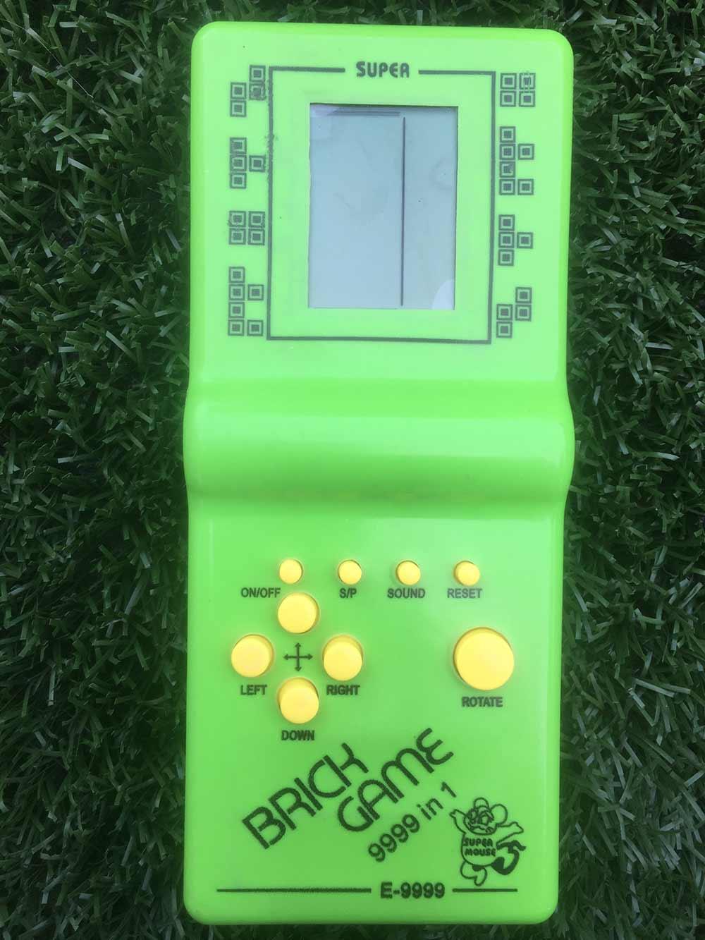 Hra Tetris - zelená