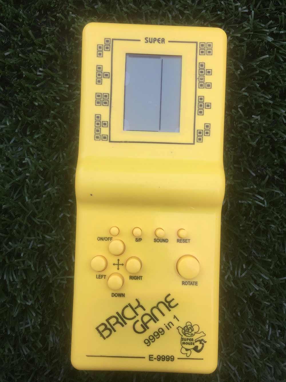 Hra Tetris - žltá