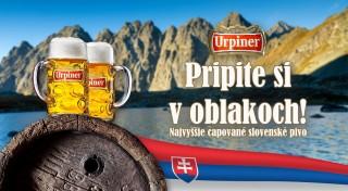 Zľava 0%: Najvyššie čapované slovenské pivo - pripite si s nami na Kôprovskom štíte! Prispejte aj vy na opravu turistických chodníkov vo Vysokých Tatrách.