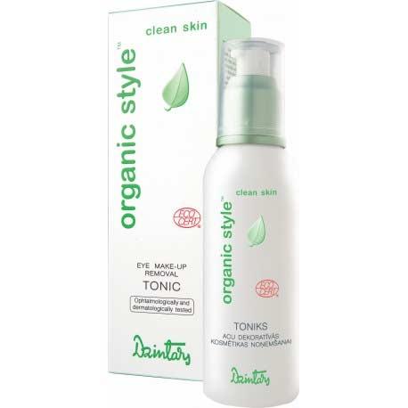 ORGANIC STYLE clean skin tonikum na odlíčenie očí (150 ml)