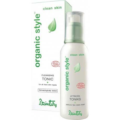ORGANIC STYLE clean skin jemné tonikum na mastnú pleť (150 ml)