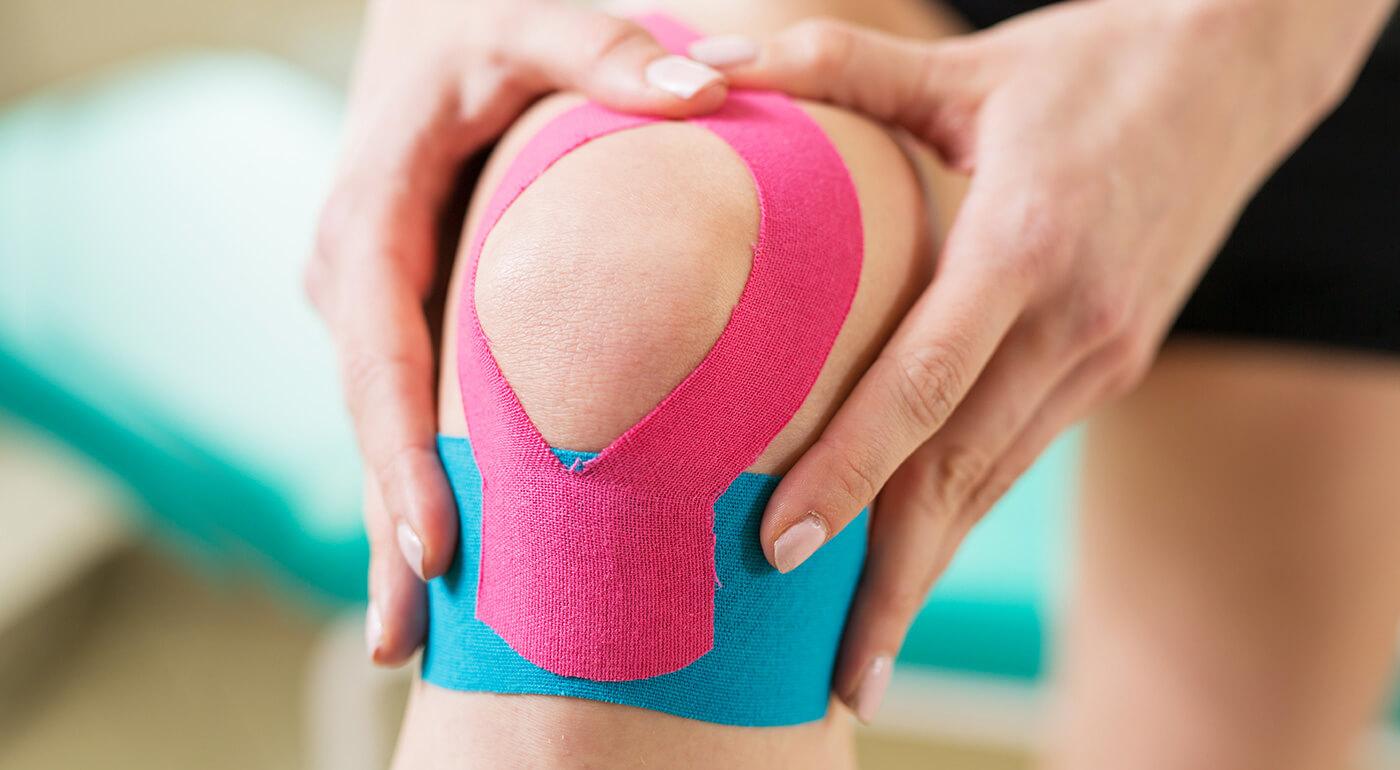 Tejpovacia páska zo 100% bavlny proti bolestiam kĺbov, svalov či chrbtice