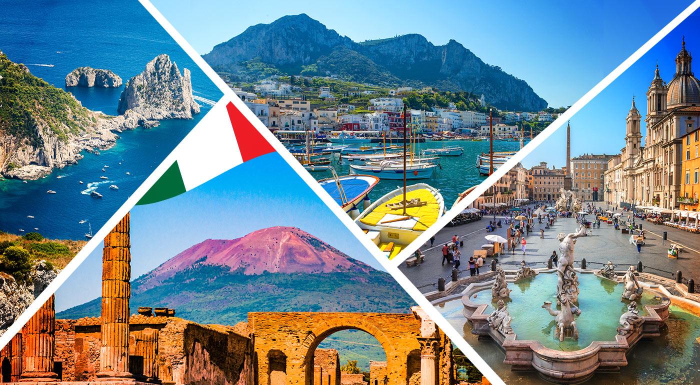 LAST MINUTE Taliansko: Putovanie po mestách Rím, Vatikán, Vezuv, Pompeje, Herculaneum, Capri a Neapol počas 5 dní