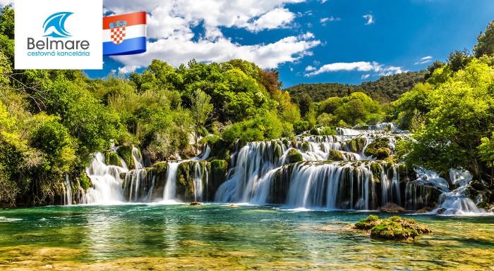 Fotka zľavy: Prekrásne pltivické jazerá nemusíte obdiovať len vo Winnetouovkách, užite si ich krásu naživo na zájazde do Chorvátska s CK Belmare.