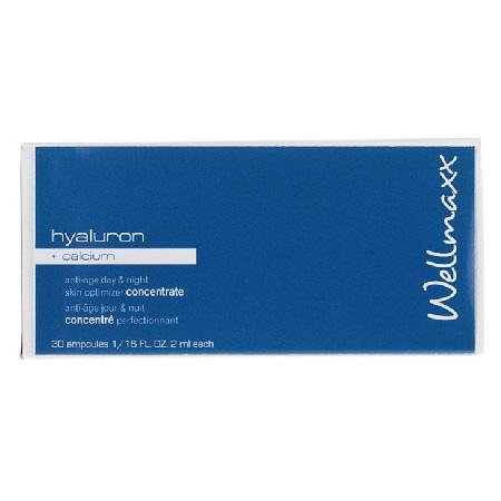 Wellmaxx Hyaluron - Koncentrát amupliek hyaluron a vápnik (30x 2 ml)