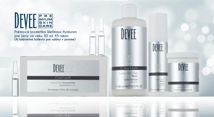Fotka zľavy: Luxusná kozmetika Devee Caviar určená špeciálne pre ženy vo veku 30 - 45 rokov s obsahom pravého kaviáru. Ideálne zloženie pre navrátenie krásnej a mladistvej pleti.
