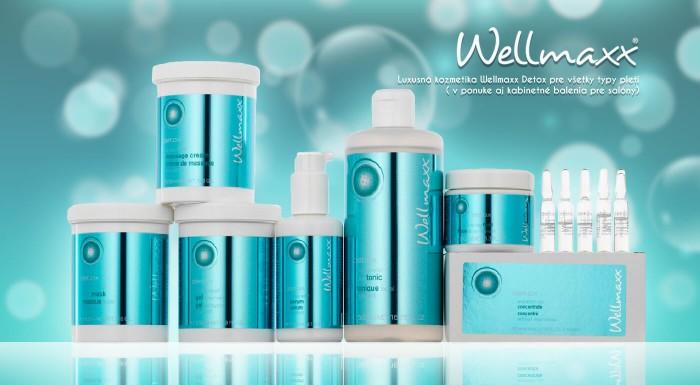 Fotka zľavy: Kozmetika Wellmaxx Detox, pre regeneráciu na bunkovej úrovni. Predĺžte životnosť vašich buniek a oddiaľte pôsobenie času.