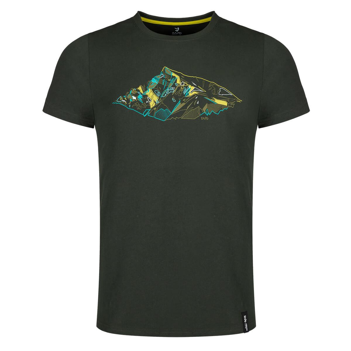 ZAJO Bormio T-Shirt SS pánske tričko Climbing Ivy Peak - veľkosť S