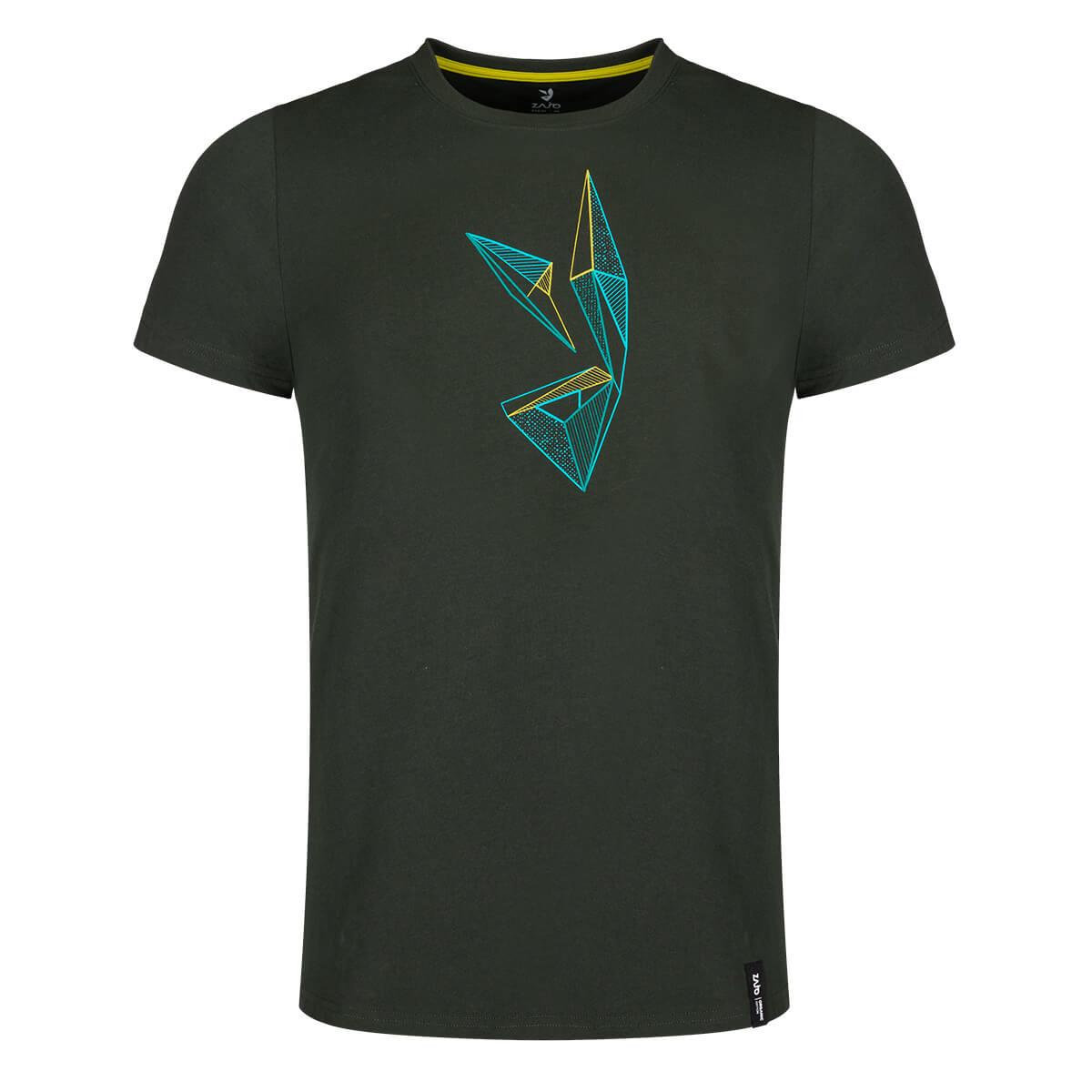 ZAJO Bormio T-Shirt SS pánske tričko Climbing Ivy Rabbit - veľkosť M