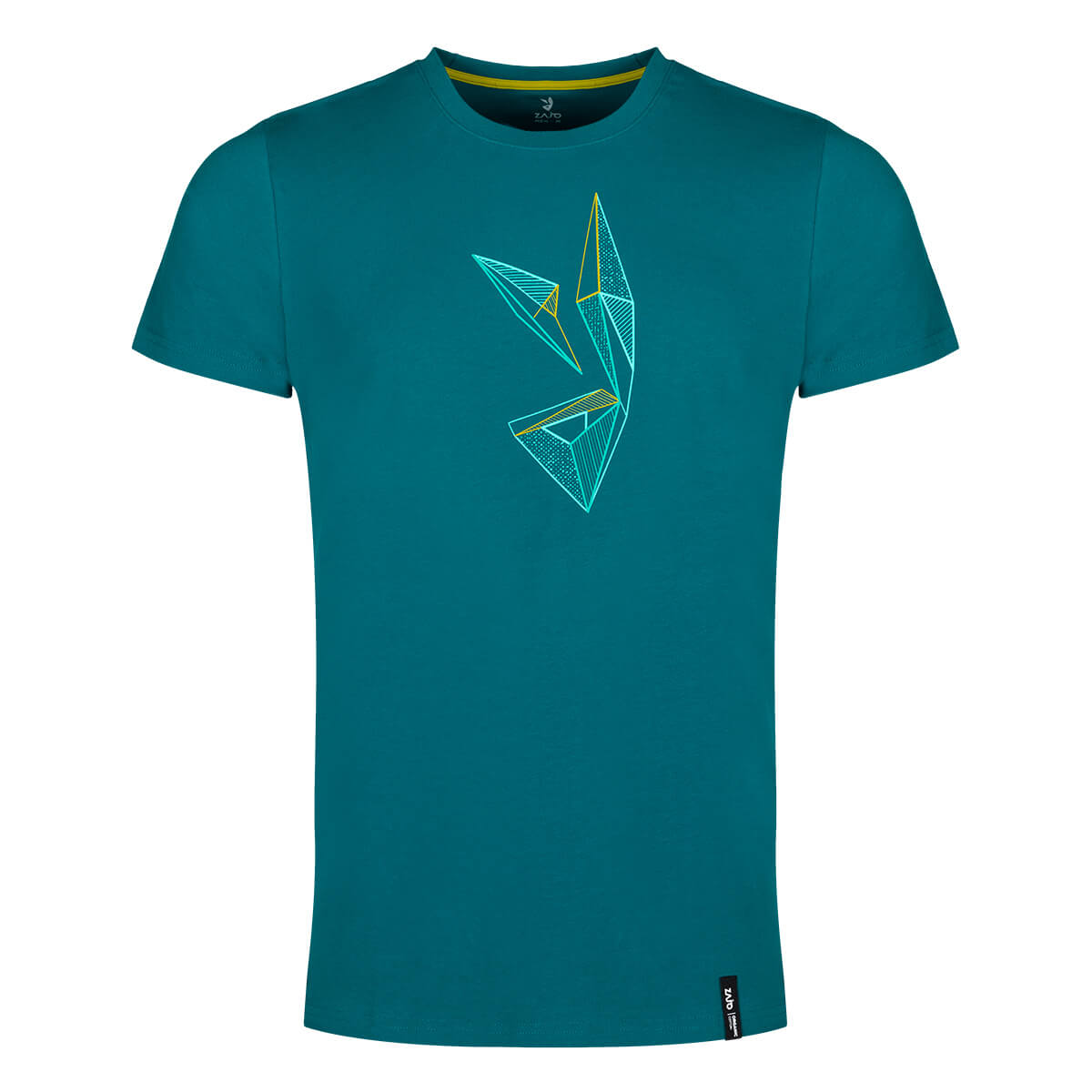 ZAJO Bormio T-Shirt SS pánske tričko Deep Lagoon Rabbit - veľkosť M