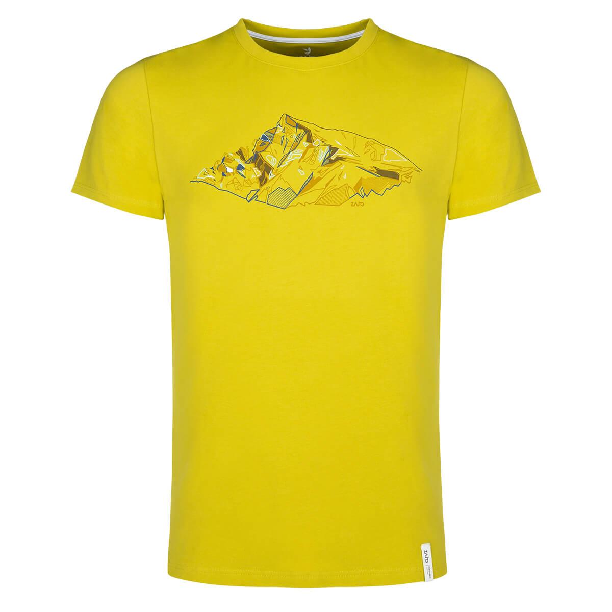 ZAJO Bormio T-Shirt SS pánske tričko Citronelle Peak - veľkosť M