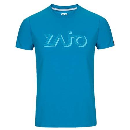 Pánske tričko Zajo Bormio Blue Jewel Logo - veľkosť L