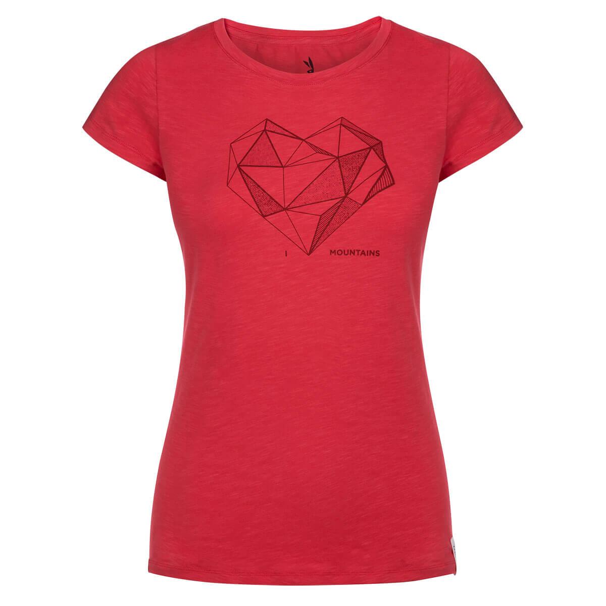 Dámske tričko Zajo Corrine Hibiscus - veľkosť XS