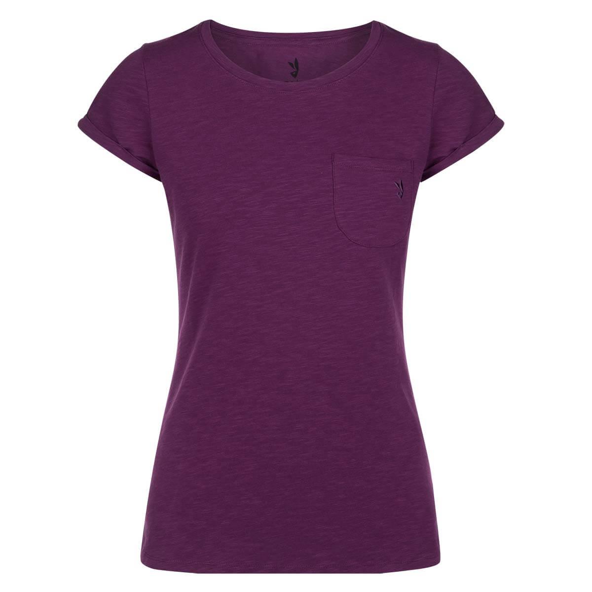 Dámske tričko Zajo Mari Dark Purple - veľkosť XS