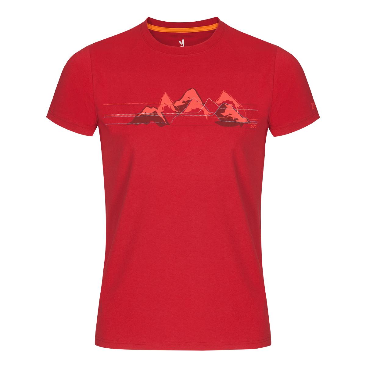 Pánske tričko ZAJO Bormio Chilli Mountains SS - veľkosť S