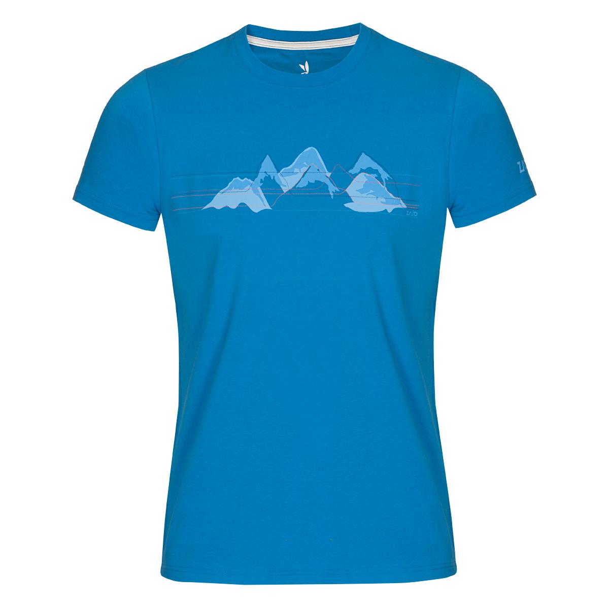 Pánske tričko ZAJO Bormio Ibiza Blue Mountains SS - veľkosť S