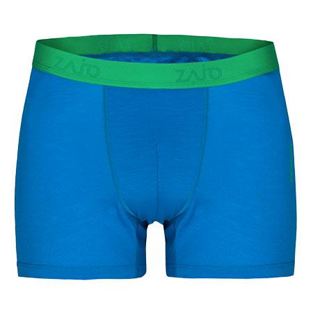 Pánske spodné prádlo Zajo Bjorn Merino Shorts Blue Jewel - veľkosť XS