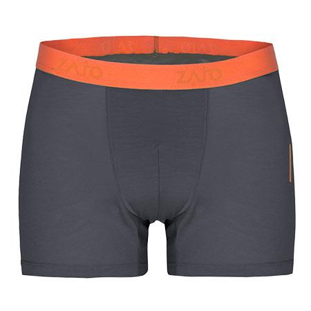 Pánske spodné prádlo Zajo Bjorn Merino Shorts Gray - veľkosť XXL