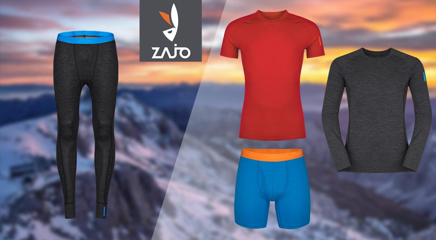 Pánske oblečenie ZAJO z merino vlny - kompletná merino výbava: spodné prádlo, tričká s krátkym a dlhým rukávom