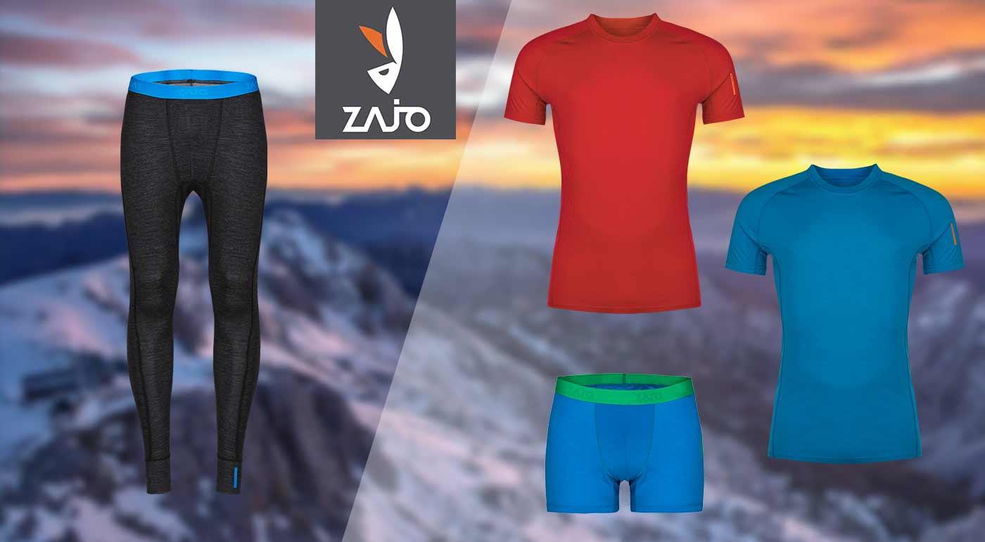 Pánske oblečenie ZAJO z merino vlny do tých najnáročnejších podmienok