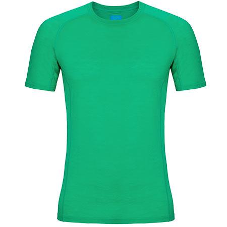 Pánske tričko Zajo Bjorn Merino T-shirt SS Bright Green - veľkosť S