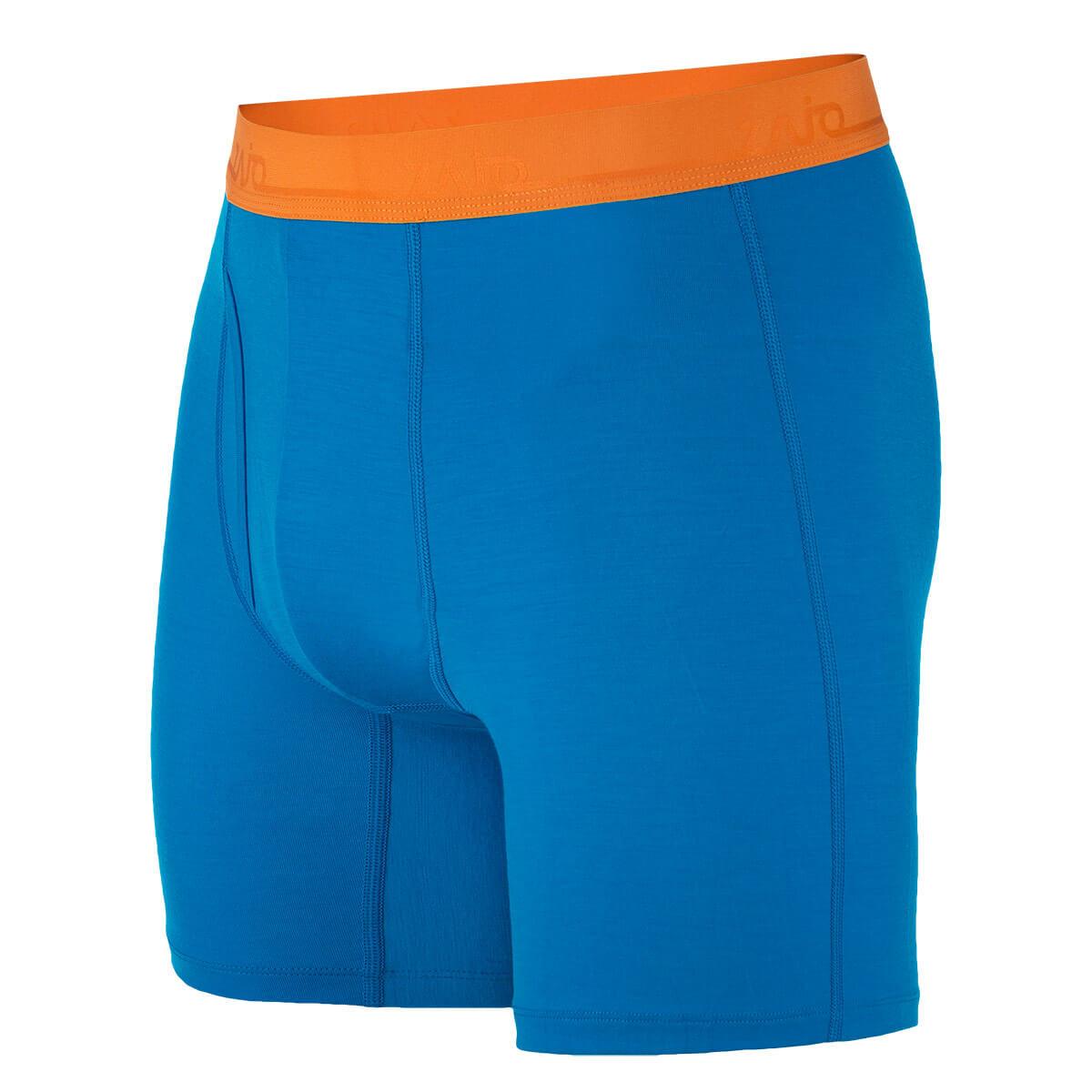 Pánske spodné prádlo Zajo Bjorn Merino Nylon Shorts Greek Blue - veľkosť S