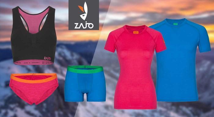 Fotka zľavy: Pánske a dámske merino oblečenie od značky ZAJO do tých najnáročnejších podmienok. Vyberte si tričká, spodné prádlo, alebo topy s neoceniteľnými vlastnosťami.
