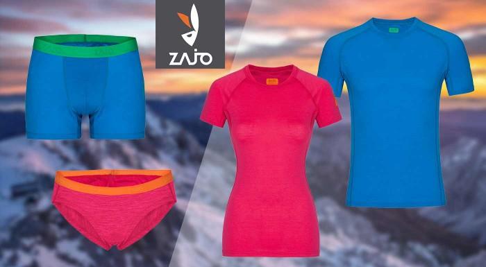 Pánske a dámske merino oblečenie od značky ZAJO do tých najnáročnejších podmienok. Vyberte si tričká, spodné prádlo, alebo topy s neoceniteľnými vlastnosťami.