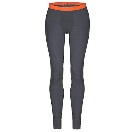 Pánske spodné prádlo Zajo Bjorn Merino Pants Gray - veľkosť S