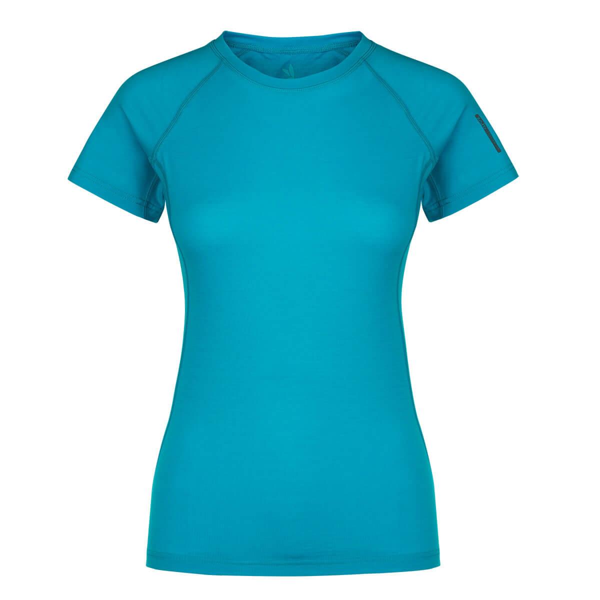 Dámske tričko Zajo Elsa Merino Nylon T-shirt SS Curacao - veľkosť XS