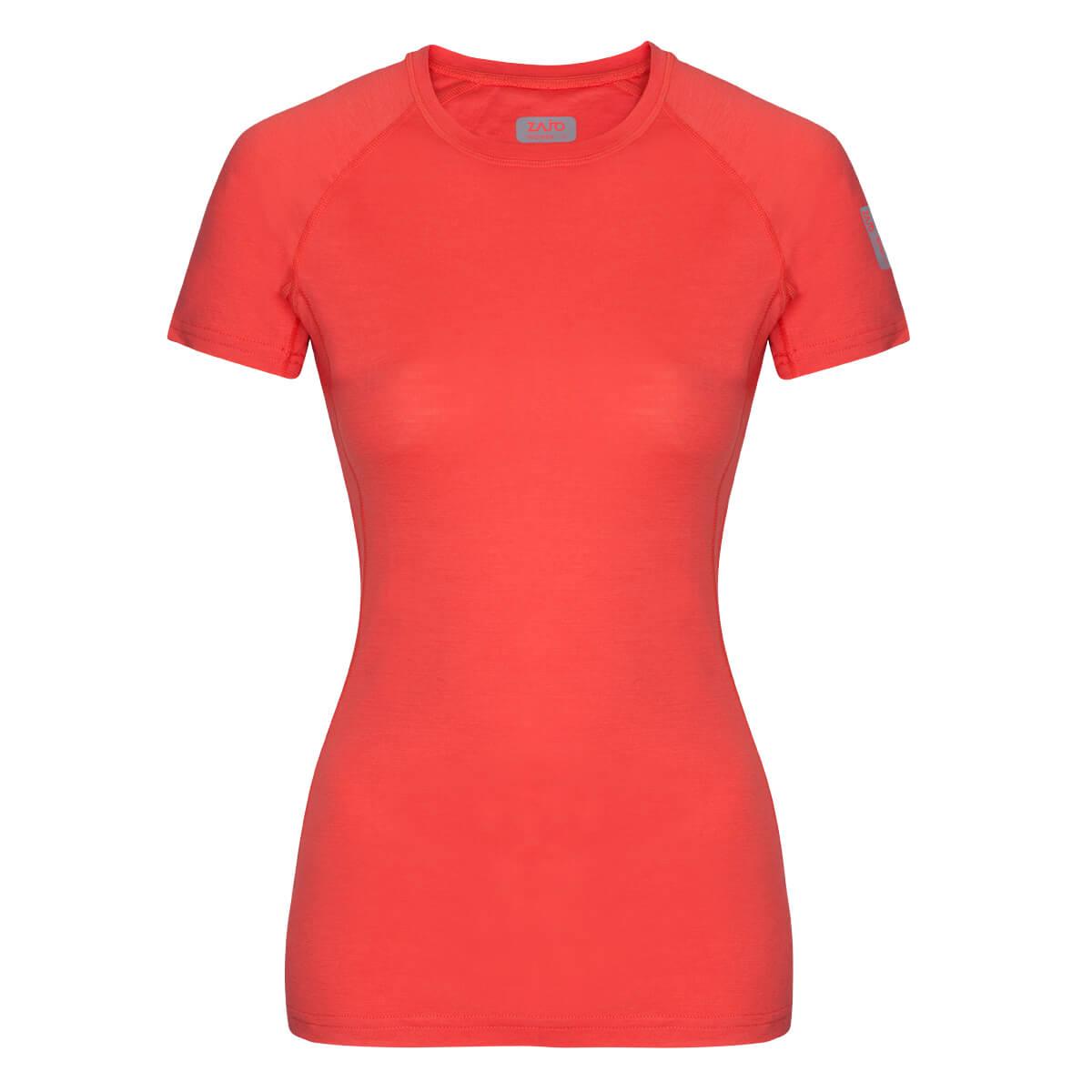 Dámske tričko Elsa Merino T-shirt SS Coral - veľkosť XS