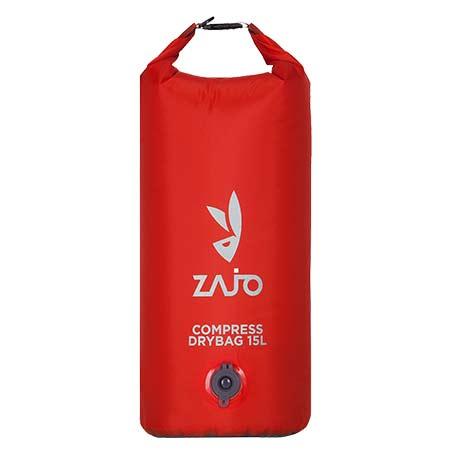 Zajo Compress Drybag 15 L Red Vákuový kompresný vak
