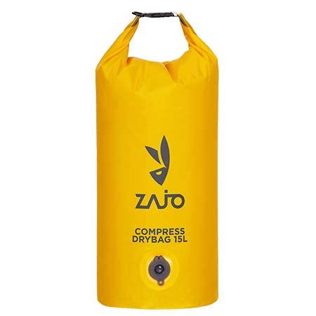 Zajo Compress Drybag 15 L Yellow Vákuový kompresný vak