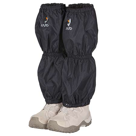 ZAJO Návleky na nohavice Gaiter Hike Black L/XL