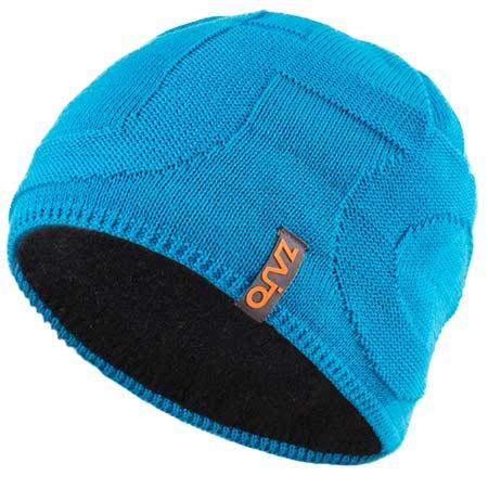 Pánska čiapka Zajo Riku M Beanie Blue Jewel