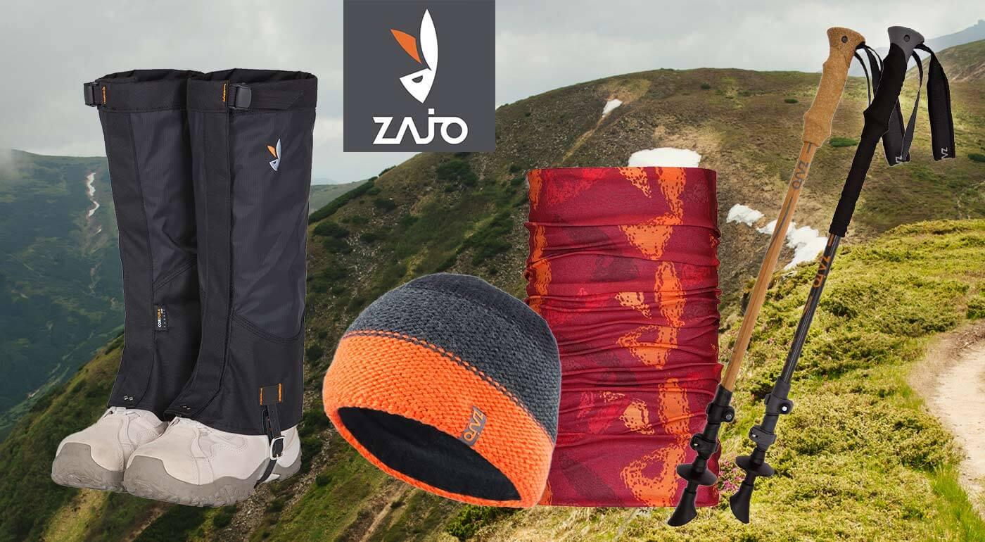 Trekingové palice, čiapky, ponožky a multifunkčné šatky pre turistov od slovenskej značky ZAJO