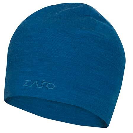 Pánska čiapka Zajo Hals Typo Merino Beanie Mykonos Blue