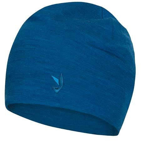 Pánska čiapka Zajo Hals Head Merino Beanie Mykonos Blue