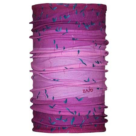 Multifunkčná šatka Zajo Unitube Violet Flores