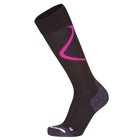 ZAJO Ponožky Primaloft Ski Socks Fuchsia - veľkosť L
